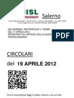 Metropolis e Roma Del 17 Aprile 2012
