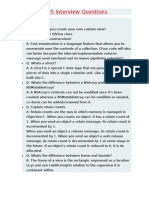Ios Interview Questions And Answers For Experienced Pdf