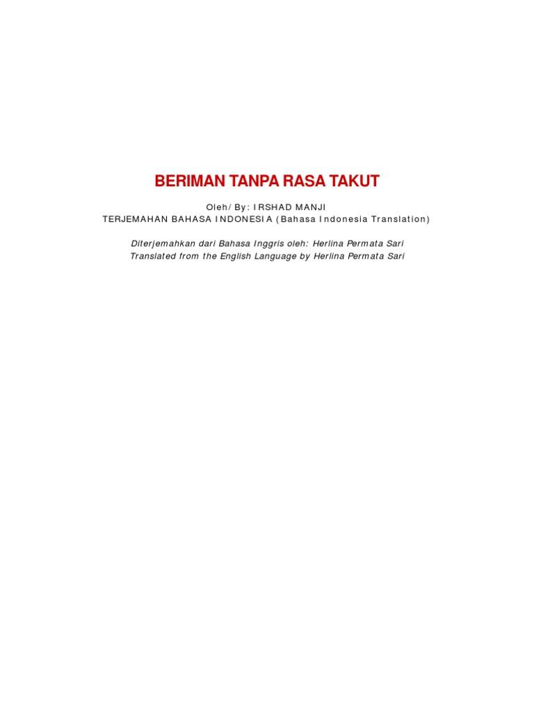 Indonesian Edition
