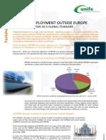 ERTMS Facts Sheet 7 - ERTMS Deployment Outside Europe