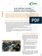 ERTMS Facts Sheet 16 - ERTMS in Control Centres