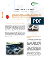 ERTMS Facts Sheet 17 - ERTMS Deployment in Turkey