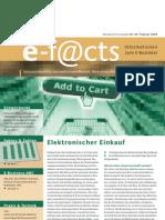 E-Facts 4 - Elektronischer Einkauf