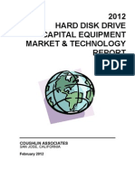 2012 HDD Capital Equipment Market &Technology Report 021112