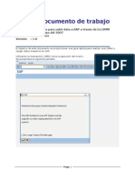 Como Cargar Data en SAP Con LSMW