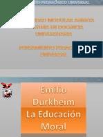 Educacion Moral Emile Durkheim