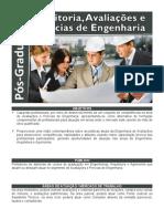 Auditoria, Avaliações e Perícias da Engenharia