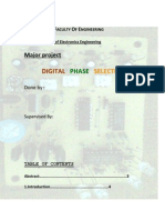 Synopsis of Digital Phase Selector