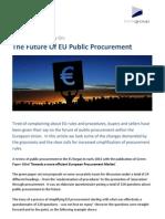 The Future of EU Public Procurement