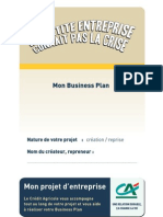 Model Busness Plan Credi Agricole