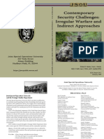 Irregular Warfare & Indirect Approaches - Contemporary Security Challenges