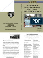 the Thick Blue Line — Policing & Law Enforcement in COIN