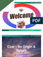01 Coal - Its Origin Nature - Ranipet July 11 [Compatibility Mode]
