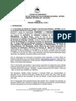 EDITAL- PREGÃO 15