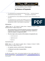 The+Balance+of+Payments Unit 3