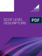 SCQF Level Descriptors for Website - Feb 2010(2)