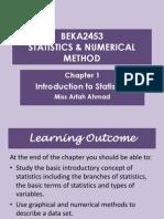 Chap 1 Statistik