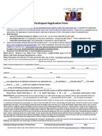 Lake Frank Participant Registration Form (AWFW 2012)
