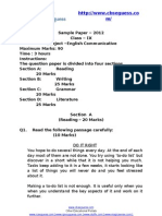 11615 English Sample Paper 410031