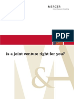 Is a Joint Venture Right for You