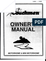 Couchmen Rv Owners Manual