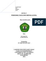 Referat Tan3 Periodik Paralisis Hipokalemi 13-4-12