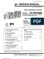 Sharp CD-mps900 CD-mps99 [ET]