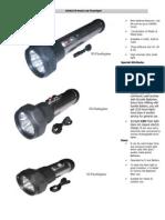Aluminium Led Flashlight 1