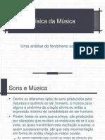 A Fisica na Música