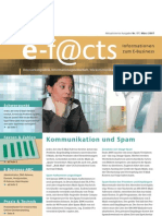 E-Facts 17 - Kommunikation und Spam