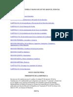 Decreto Con Fuerza y Rango de Ley de Arancel Judicial