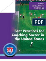 Best Practices for Coaching Soccer (USA)