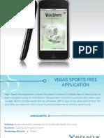 Vegas Sports Free Application