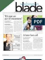 WashingtonBlade.com Volume 43, Number 16, April 20, 2012