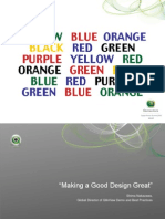 Making Good Design Great