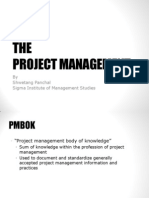 Introduction to PMBOK-Project Management Body of Knowledge