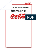 Marketing Management (Coca Cola)