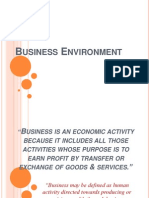 Unit-1 Type of Business Environment