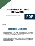 Buying Behvr