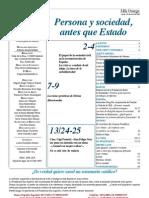 Semanario Católico Alfa y Omega. nº 782. 19 Abril 2012