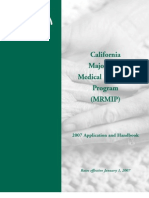 California MRMIP Brochure 2007
