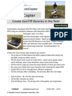 AutoCopter UAV GeoTiff Solution
