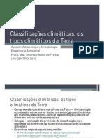 CLIMA_Classificações climáticas [Modo de Compatibilidade]