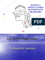 FONÉTICA ARTICULATÓRIA DO PORT. BRASILEIRO