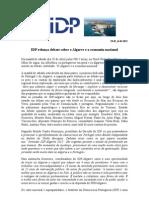 IDP relança debate sobre o Algarve e a economia nacional