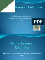 Deforestación en Colombia1