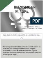 Lesbianismo en Europa