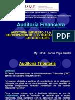 Sesión Nº 16, Auditoría a Impuesto a la Renta y Part. de los Trabaj. en l