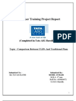A Project Report on Tata Aig