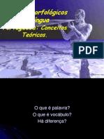 Estudos Morfológicos do Português